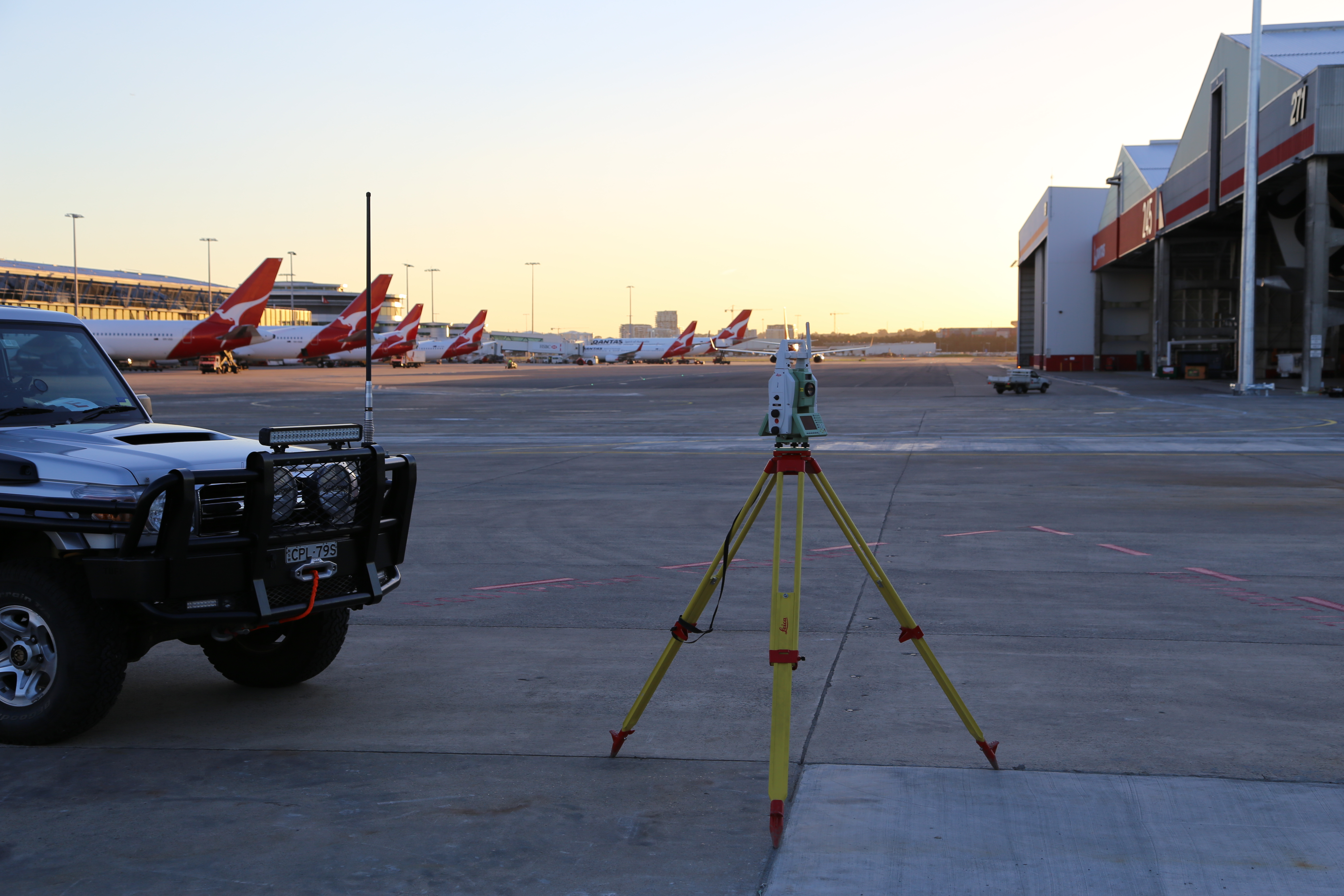 Airport Surveying Services Cads